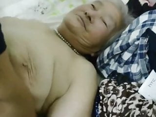 Japanese Granny Placate Likes Not Far From Fuck